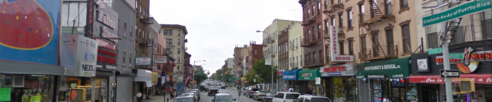 Graham Ave looking North